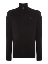 Polo Ralph Lauren Pima Cotton Turtleneck Jumper Black