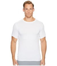 Perry Ellis Pe360 Active Stretch Solid Crew Bright White T Shirt
