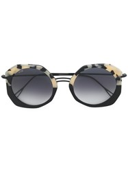 Kyme Donna Plus Sunglasses Metal Other Acetate Black