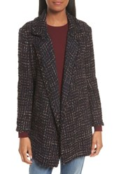 Theory Women's Clairene Rb Tweed Boucle Coat