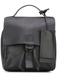 Marsell Hanging Tag Backpack Black