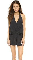 Ramy Brook Aden Romper Black