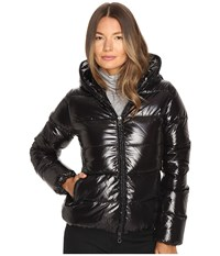 Duvetica Thiacinque Quilted Down Jacket Nero Women's Coat Black
