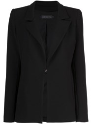 Brandon Maxwell Slim Fit Blazer Black