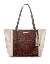 Brahmin Medium Asher Tote Pecan