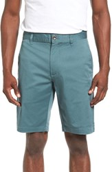 Rvca Men's The Week End Twill Chino Shorts Pine Tree
