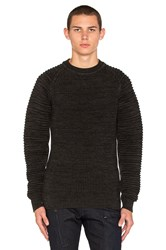G Star Suzaki Sweater Charcoal
