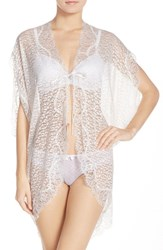 Women's Betsey Johnson Lace Short Robe