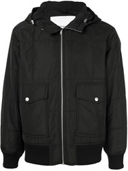 Ck Calvin Klein Hooded Light Jacket Black