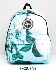 Hype Exclusive Leafy Floral Backpack Leafy Floral Multi