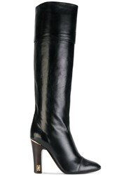Marc Jacobs Anne Tall Boots Leather Black