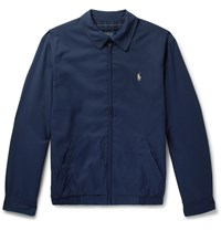 Polo Ralph Lauren Twill Blouson Jacket Blue