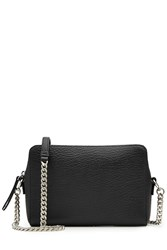 Maison Martin Margiela Leather Two Way Shoulder Bag Black