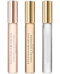 Donna Karan 3 Pc. Liquid Cashmere Collection Rollerball Gift Set No Color