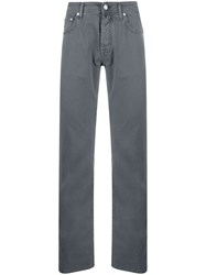 Jacob Cohen Straight Leg Casual Trousers 60