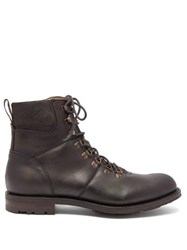 Cheaney Ingleborough B Lace Up Leather Boots Brown