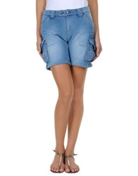 Two Women In The World Sweat Shorts Azure