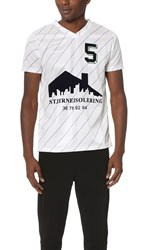 Han Kjobenhavn Poly Football Shirt White