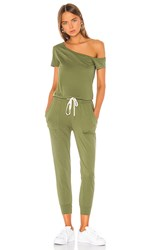 N Philanthropy X Revolve Britton Jumpsuit In Green. Army