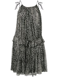 Stella Mccartney Polka Dot Bouncy Dress Black