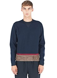 Kolor Crew Neck Sweater Navy