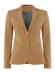 Gant Club Blazer Cotton Wool Khaki