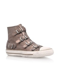 Kurt Geiger Lizzy Hi Top Trainers Female Bronze