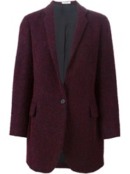 Lardini Textured Loose Fit Blazer