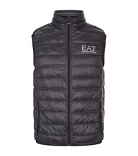 Armani Ea7 Quilted Technical Gilet Male Grey