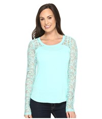 Ariat Dolce Top Sea Glass Women's Clothing Multi