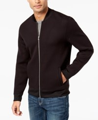 Inc International Concepts Men's Zip Front Jacket Created For Macy's Deep Black