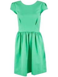 Almari Diamond Quilt Dress Seafoam Green