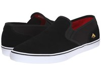 Emerica Provost Cruiser Slip Black White Men's Skate Shoes