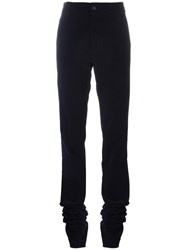 Societe Anonyme Superlong Corduroy Trousers Blue