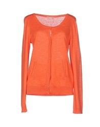Bonpoint Knitwear Cardigans Women Orange