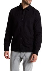 Threads For Thought Fleece Work Shirt Black