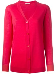 Paul By Paul Smith V Neck Cardigan Pink And Purple