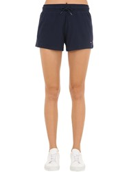 Tommy Hilfiger Cotton Jersey Shorts Blue