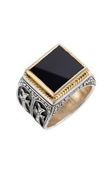 Men's Konstantino 'Minos' Side Cross Ring