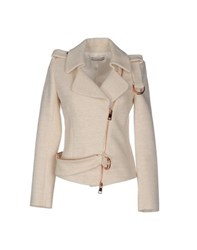 Bouchra Jarrar Coats And Jackets Jackets Women Ivory