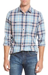 Men's Wallin And Bros. 'Workwear' Trim Fit Long Sleeve Plaid Flannel Sport Shirt