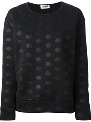 Sonia By Sonia Rykiel Polka Dot Sweatshirt Black