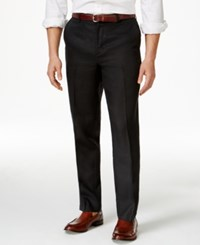 Tasso Elba Island Big And Tall Flat Front Linen Pants