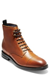 Cole Haan Wagner Grand Cap Toe Boot Mesquite Leather
