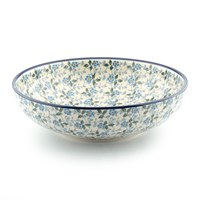 Bunzlau Castle Serving Bowl Summer Wind Medium
