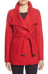 Women's Ted Baker London 'Paria' Short Wool Blend Wrap Coat