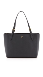 Tory Burch York Small Buckle Tote Tory Navy
