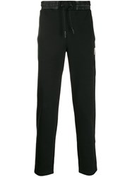 Plein Sport Side Stripe Track Pants Black