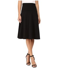 Susana Monaco High Wasit Flare Skirt Black Women's Skirt
