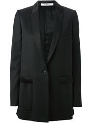 Givenchy Long Line Blazer Black